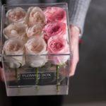 Короб из оргстекла для роз
