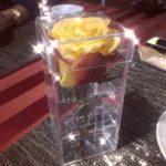 Акриловый бокс для розы