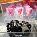 Шкатулка для цветов с выдвижным ящиком