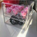 Коробка для цветов прозрачная